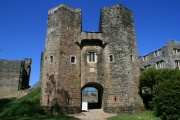 Berry Pomeroy Castle (English Heritage), Totnes, South Devon